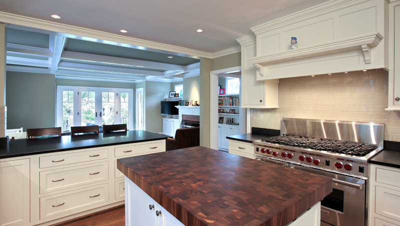 Kitchen of renovated home in Arlington Virginia