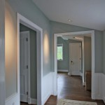 Hallway of renovated Arlington, Virginia home