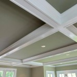 Ceiling details of renovated Arlington, Virginia home