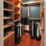 Spacious walk in closet in custom built Chevy Chase home, Maryland