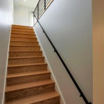 Staircase of renovated modern home on the Maryland Eastern Shore