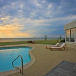 Pool of renovated modern home on the Maryland Eastern Shore