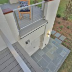 Deck of renovated modern home on the Maryland Eastern Shore