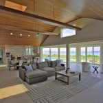 Open space of renovated modern home on the Maryland Eastern Shore