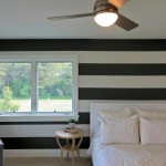 Bedroom of renovated modern home on the Maryland Eastern Shore